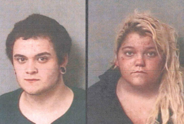 Michael Gagnon, left, and Kayla McKinney, right, both face drug charges after police searched a home on Jackson Street and Avon and found narcotics.