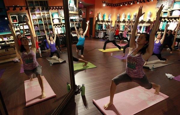 Lululemon laughs off the controversy, plans to launch men's stores.