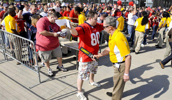 New security restrictions at NFL stadiums will limit the size and type of bags fans can bring into venues, which go into effect during the preseason.