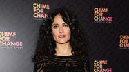 Salma Hayek says she doesn't work at being beautiful