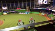 Marlins Park in Miami