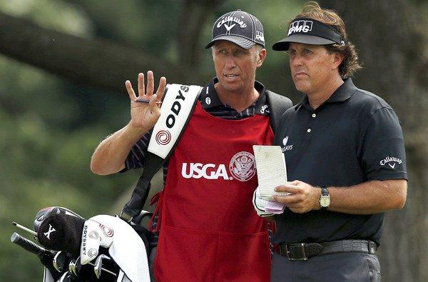 Jim Mackay, Phil Mickelson