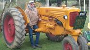 Bill Blough's entry into the antique tractor hobby is not exactly what people might consider ordinary.