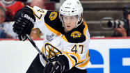 Torey Krug gave a small smile Thursday as he estimated his recovery from Wednesday's 4-3 triple-overtime loss to the Blackhawks would be considerably easier than the recuperation of some of his Bruins teammates.