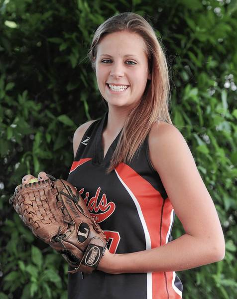 Northampton's Marly Laubach is the Morning Call pitcher of the year.