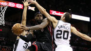 Heat evens NBA Finals series with 109-93 victory over Spurs