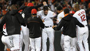Orioles walk-off wins