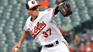 After right-hander Kevin Gausman allowed six hits and two runs in 5 1/3 innings Thursday night against the Boston Red Sox, he was optioned to Triple-A Norfolk.