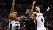 Dwyane Wade spurs on Heat to even series