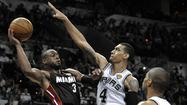 Heat storm back with Game 4 victory over Spurs