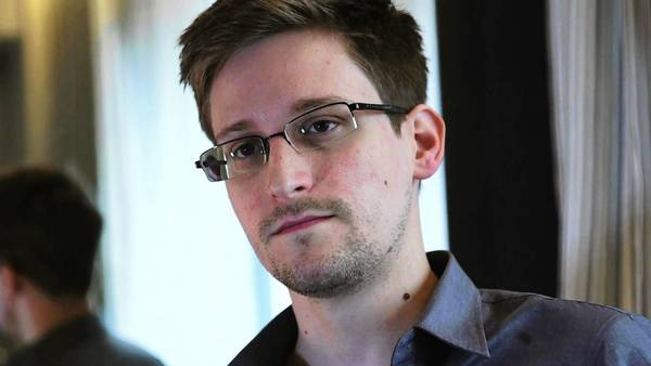 Edward Snowden, seen in his Hong Kong hotel room during a June 6 video interview with The Guardian, has leaked details of top-secret U.S. surveillance programs, including a ruling by the Foreign Intelligence Surveillance Court.