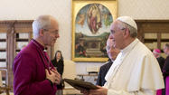 VATICAN-UK-POPE-WELBY