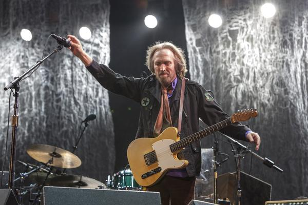 Tom Petty of Tom Petty and the Heartbreakers.
