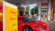 Opening Of Royal Dutch Shell Plc's 100th Russian Gas Station
