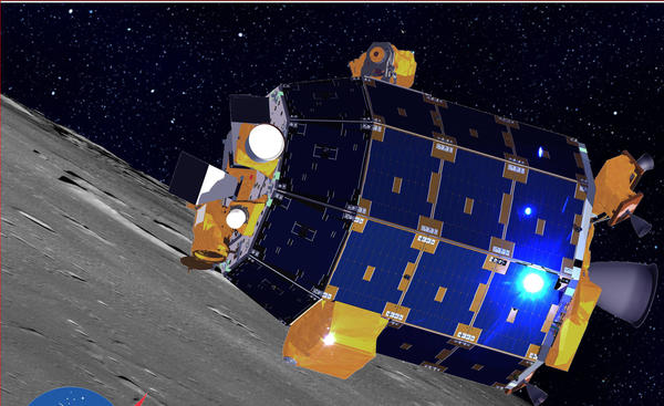The Lunar Atmosphere and Dust Environment Explorer.