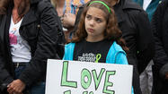 Newtown, Connecticut (Reuters) - Six months after a gunman massacred 26 children and adults at an elementary school, Newtown, Connecticut, marked the day with 26-seconds of silence and an expression of frustration at the stalled progress on gun control.
