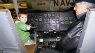 On Father's Day, Sunday, June 16, from 10 a.m. to 4 p.m., the New England Air Museum in Windsor Locks will hold a special open-cockpit day for children and their dads.