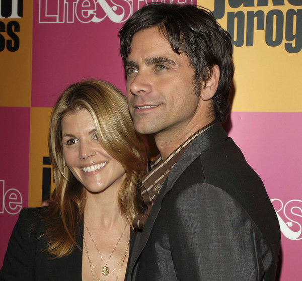 """Full House"" stars Lori Loughlin and John Stamos, shown in 2006, said their romance ""timing was off"" while filming their sitcom."