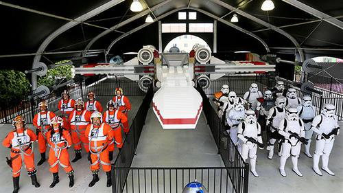 gallery Star Wars Lego models at Legoland