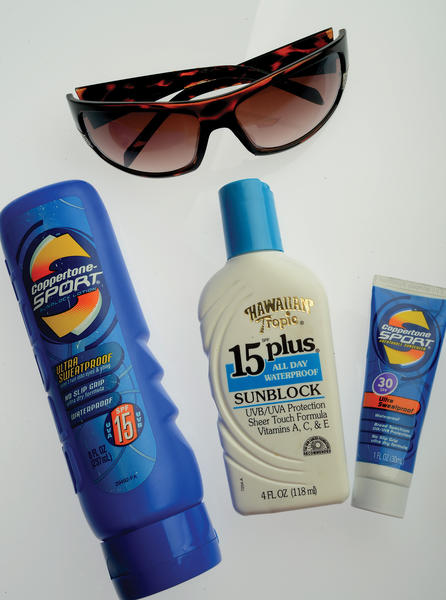 Sunscreen labeling