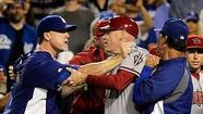 Dodgers-Diamondbacks suspensions: L.A. wins in a KO