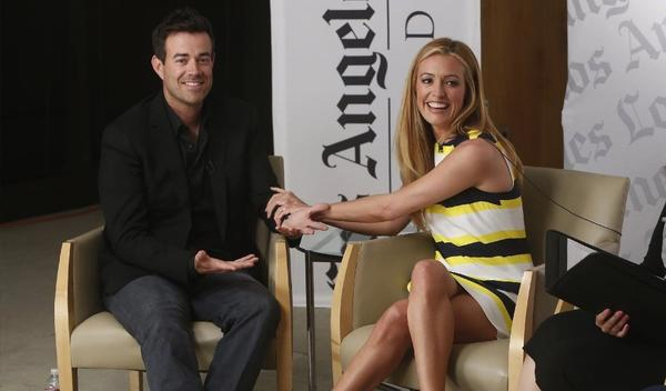 "Carson Daly (""The Voice"") and Cat Deeley (""So You Think You Can Dance?"") talk reality TV at the Envelope Emmy Roundtable."