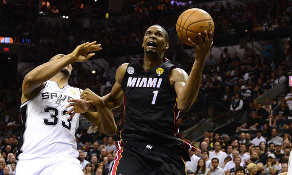 Miami's Chris Bosh fined $5,000 for flopping in Game 4 ...