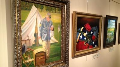 Arts Council opens Civil War exhibit