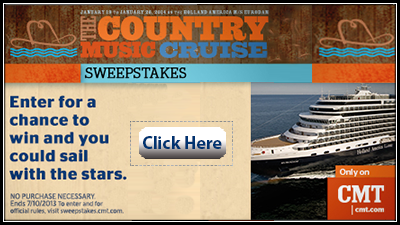 Country Music Cruise Sweepstakes