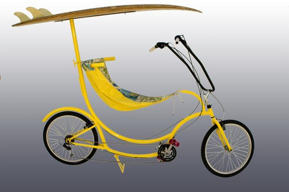 The hammock seat on this BananaHama bike takes a little getting used to but is comfortable and fun. Price: $680-$1,330.
