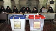 TEHRAN -- Electoral authorities began counting ballots late Friday after tens of millions of Iranians turned out to vote for a successor to President Mahmoud Ahmadinejad.