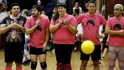 Dodgeball a grand slam for WeHo social scene