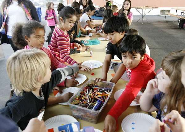 Students at McKinley Elementary School in Burbank last year during the After School Daze city run afterschool program.