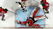 Video: Making of Blackhawks Game 1 time-lapse