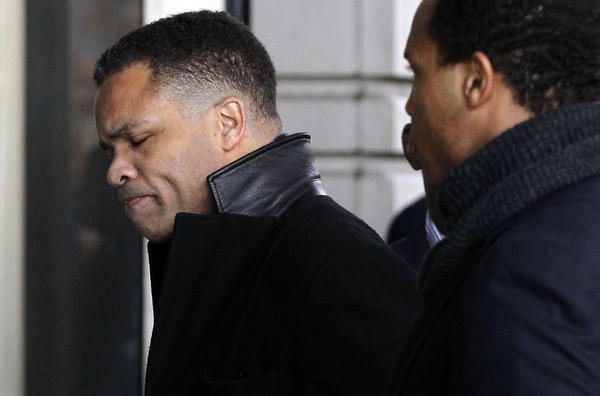 Jesse Jackson Jr. arrives at U.S. District Court in Washington, D.C.