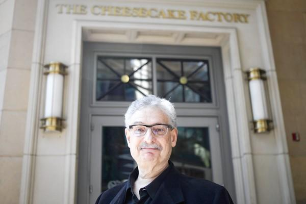 "Cheesecake Factory founder David Overton says: ""It's hard to make delicious food without some calories. The hard-core guest wants what they want, they have their favorites and that's what they order."""""