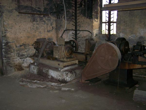 Interior of the Matthews Foundry building in Martinsburg.