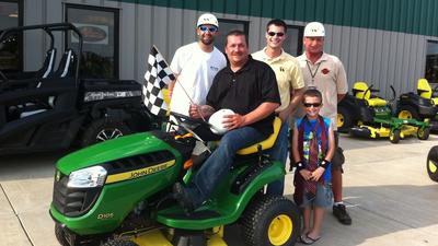Father Mows Best 2013 at West Side Tractor