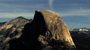Postcards From the West: A full view of Half Dome