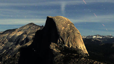 A different view of Yosemite's Half Dome