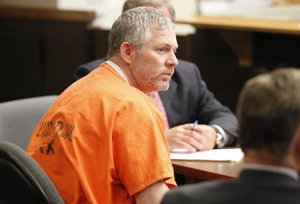 Lenny Dykstra appears in Los Angeles Superior Court for an arraignment in 2011.