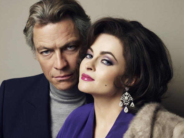 """Dominic West and Helena Bonham Carter will play Richard Burton and Elizabeth Taylor in BBC America's """"Burton and Taylor."""""""