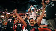 Miami Heat Road Rally Game Four
