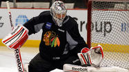 The question about the identity of the top goaltender for the Blackhawks is no longer a question.