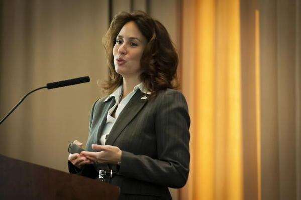 File photo of Hartford Superintendent Christina Kishimoto.