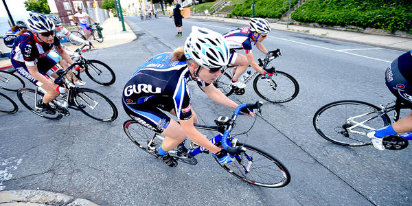 Women racers Kick-Off Criterium racing Friday in City Center Hagerstown.
