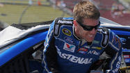 A day after he drove one of the first American race cars, Carl Edwards captured the pole for Sunday's Quicken Loans 400.