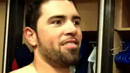 Video: Cubs's DeJesus on sprained shoulder