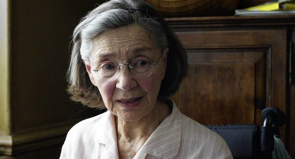 "Emmanuelle Riva as Anne in a scene from the film ""Amour."""