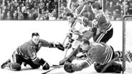 "The celebration might have seemed premature, even a tad in bad taste, when upon finishing the 1966-67 season in first place, the Blackhawks wildly sprayed each other with champagne while Coach Billy Reay screamed: ""We buried Muldoon!"""